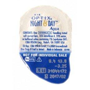 Soczewki Air Optix Aqua Night&Day 8,4 1szt.