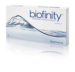 Soczewki Biofinity 6szt.